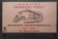 domaine demeure-Pinet, méthode traditionnelle rosé