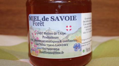 GAEC Reines de l'Alpe, miel de Savoie, forêt