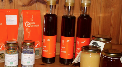 Les Naturicultrices d'Hotonnes, sirop d'hysope