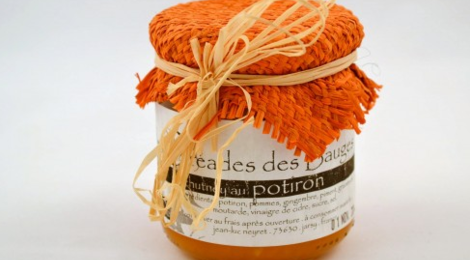 Les Oréades des Bauges, chutney potiron