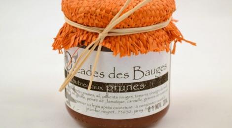 Les Oréades des Bauges, chutney prunes