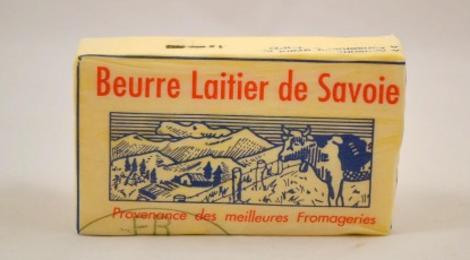Gaec des Glaciers, beurre de baratte