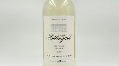 Côtes de Bergerac AOC Moelleux 2016 - Château Belingard 75cl