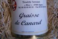 Foie gras Arnal, Graisse de canard