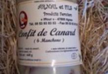 foie gras Arnal, manchons