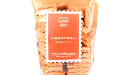 maison Camedda, Canistrelli amande