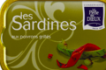la perle des dieux, Sardines aux poivrons grillés