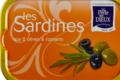 Sardines aux 2 olives et romarin