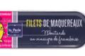 Filets de maquereaux Moutarde au vinaigre de framboise
