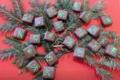 chocolat éphémère aux bourgeons de sapins