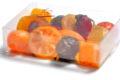 Lilamand confiseur, boîte cristal de fruits confits glacés