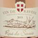 Domaine Delalex, gamay de Savoie, rosé