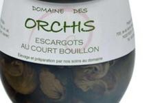 Domaine des Orchis, Escargots au court bouillon