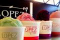 confiserie Lopez, glaces en boule