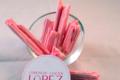 confiserie Lopez, bois cassé cerise