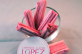 confiserie Lopez, bois cassé fraise
