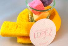 confiserie Lopez, guimauve banane