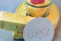 confiserie Lopez, guimauve citron