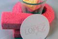 confiserie Lopez, guimauve fraise
