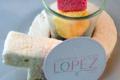 confiserie Lopez, guimauve pina colada