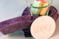 confiserie Lopez, guimauve violette