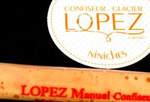 confiserie Lopez, niniche menthe