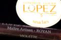 confiserie Lopez, niniche violette