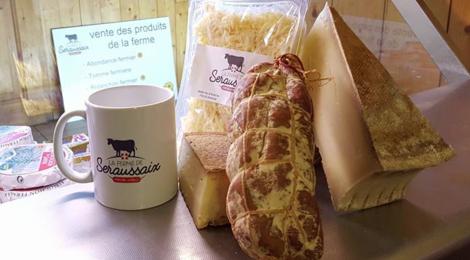 Ferme de Seraussaix, gaec Le chamois, fromage rapé