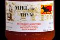 Rucher de la Bouverie, Miel de thym