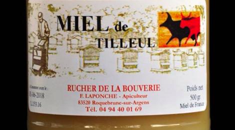 Rucher de la Bouverie, Miel de tilleul