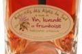 Lachanenche, vin, lavande et framboise