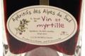 Lachanenche, vin et myrtille