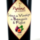 la légende de Pyrène, Crème de vinaigre de Banyuls à la figue