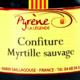 la légende de Pyrène, Myrtille sauvage