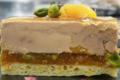 Gâteau de foie gras Abricot Pistache