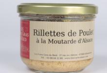 Rillettes de poulet à la moutarde d'Alsace