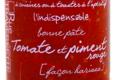 Rue Traversette, tomate et piment rouge