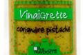 vinaigrette coriandre pistache