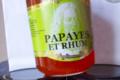 les confitures de Stanislas, papaye et rhum