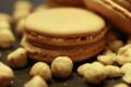 Pâtisserie Richard, macaron noisette