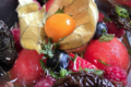 Les bocaux d'Hélène,  Soupe de pastèque,melon et menthe fraiche