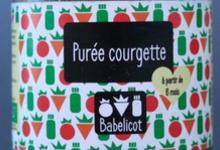 Babelicot, Purée de courgettes