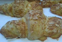 Fournil Lullinois, croissants aux amandes