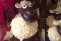 Pâtisserie Challamel, moutons en chocolat