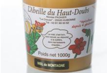 L'abeille Du Haut Doubs, miel de montagne