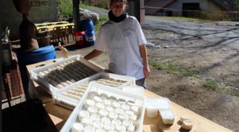 Chèvrerie de Noire Combe, fromage de chèvre