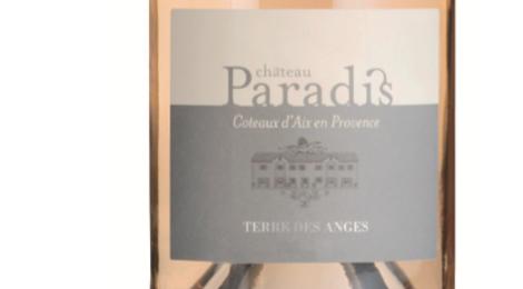 Château Paradis, Terre des Anges, rosé
