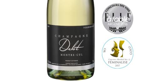 Champagne Delot, brut Montre-Cul