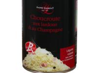Choucroute André Laurent, Boîte 1/2 choucroute cuisinée aux lardons et au Champagne