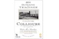 Domaine du Traginer, Collioure Cuvée d'Octobre